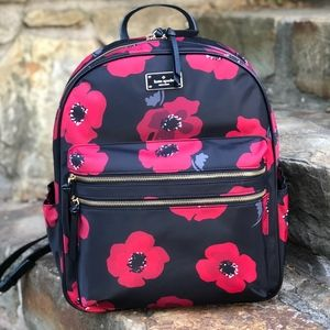 Kate Spade Black Wilson Road Poppy Bradley Bag